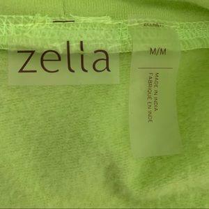 Green Zella Hoodie